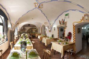 Interni del ristorante Garden