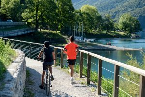 le migliori piste ciclabili tra Ledro e il Lago di Garda.