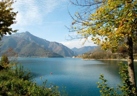 autunno lago di ledro trentino